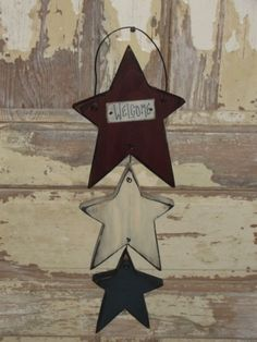 Hanging Prim Stars