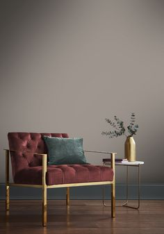 Guv'nor; a muted, yet warm grey brown named after Henry Brown's popular nickname amongst colleagues 'The Guv'nor'. Living Room Paint, Living Room Grey, Living Room Decor, Bedroom Decor, Warm Grey Walls, Brown Walls, Living Room Color Schemes, Living Room Designs, Room Wall Colors