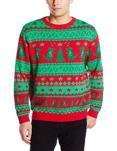 Jurassic World T Rex Logo Red Ugly Christmas Sweater (Adult Medium ...
