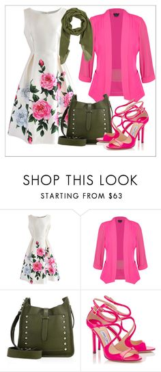 """""""Untitled #658"""" by chanlee-luv ❤ liked on Polyvore featuring Chicwish, City Chic, Rebecca Minkoff and Jei O'"""