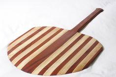 Maple and mahogany pizza platter