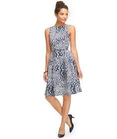 Women's Signature Poplin Dress, Print | Free Shipping at L.L.Bean