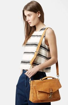 Topshop Leather Satchel | Nordstrom