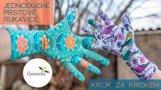 Jak ušít jednoduché prstové rukavice | Caramilla Easy Comedy Song, Sewing Hacks, Sewing Tips, Safari, Gloves, Make It Yourself, Youtube, Diy, Dressmaking