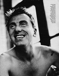 Tim Roth, a strikingly gorgeous man of action and means.