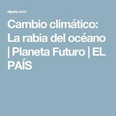 Cambio climático:  La rabia del océano | Planeta Futuro | EL PAÍS