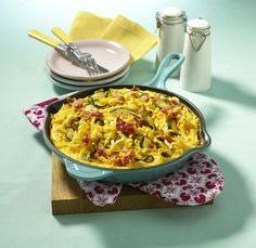 Unser beliebtes Rezept für Nudel-Zucchini-Omelett und mehr als 55.000 weitere kostenlose Rezepte auf LECKER.de.