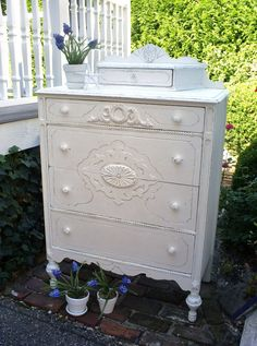 white dresser furniture shabby chic chest of by backporchco, $495.00