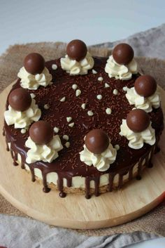 White Chocolate Lindor Cheesecake