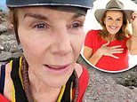 Fans question why Rhonda Burchmore appears to be wearing a full face of makeup Im A Celebrity