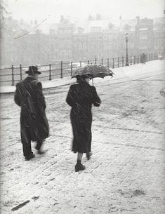 Kees Scherer, Winter in Amsterdam 1952-1957, Holland
