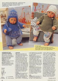 Без заголовка. Обсуждение на LiveInternet - Российский Сервис Онлайн-Дневников Knitting Dolls Clothes, Baby Doll Clothes, Crochet Doll Clothes, Doll Clothes Patterns, Barbie Clothes, Baby Dolls, Knitted Doll Patterns, Knitted Dolls, Crochet Dolls