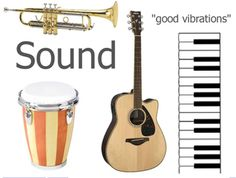 I created this flipchart to teach a science lesson about sound energy. The title page features pictures of instruments. Each instrument has a sou. Science Worksheets, Science Resources, Science Lessons, Teaching Science, Science Activities, Science Experiments, Science Ideas, Steam Activities, Holiday Activities