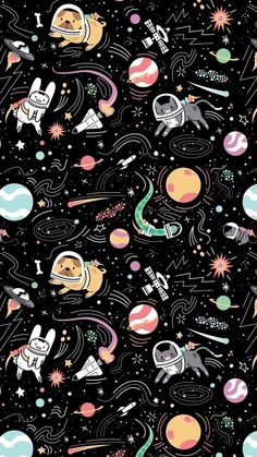 Iphone Wallpaper - Iphone Wallpaper - iPhone Hintergrundbild - Iphone and Android Walpaper Tumblr Wallpaper, Cartoon Wallpaper, Wallpaper Pastel, Space Iphone Wallpaper, Planets Wallpaper, Cat Wallpaper, Cute Wallpaper Backgrounds, Aesthetic Iphone Wallpaper, Screen Wallpaper