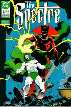 The Spectre Mike Mignola Cover Art. Armed Against Evil. Comic Book Artists, Comic Book Characters, Comic Artist, Comic Character, Comic Books Art, Character Concept, Fictional Characters, Dark Comics, Dc Comics Art