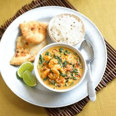 Coconut and Prawn Curry