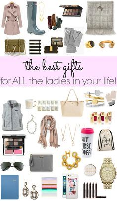 The best Christmas gift ideas for ladies! Holiday Gift Guide via Glitter & Gingham!
