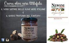 Crema di oliva nera tartufata... #neronitradizioneitaliana #madeinitaly #ciboitaliano #trasformazione #creme #patè #sughi