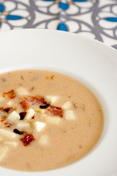 TASTY TRIX: Cashew Butter & Bacon Soup {Inspired by Goober Peas & African Groundnut Stews}