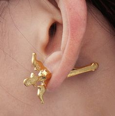 Golden Sword Single 3D Ear Cuff | LilyFair Jewelry, $9.99!