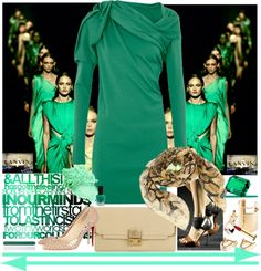 """""""LANVIN 2013"""" by missz ❤ liked on Polyvore"""