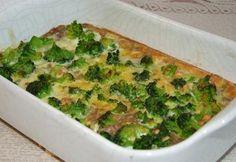 brokkolis barna rizs Kefir, Quiche, Paleo, Veggies, Breakfast, Food, Morning Coffee, Vegetable Recipes, Vegetables