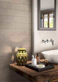 Lin_Side: la ceramica rende omaggio ad una nuova naturalezza, intrisa di forza e personalità. Un tessuto che segue le micro ondulazioni delle trame in lino, mescolato ad una base in cemento che ne ripropone le delicate tonalità. #linside #bathroom #relax #design #italy #italian #italia #ceramica #tile #edilgres #interior