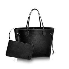 Louis Vuitton Epi Leather Noir Neverfull MM M40932 Louis Vuitton Neverfull  Price e03926297eadb