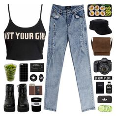 """""""GENUINE-PEOPLE 6"""" by novalikarida ❤ liked on Polyvore featuring The WhitePepper, cydwoq, Royce Leather, Casetify, Eos, adidas, adidas Originals and Bella Freud"""