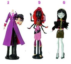 The New Monster High Dolls 2012