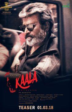 Super Star Rajini Kanth's Kaala Movie Teaser Release Date