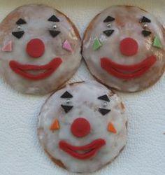 zelfgemaakte circuskoeken