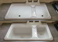 Rv sink covers of kitchen sinks and bathroom sinks american stonecast products rv for Travel trailer bathroom sinks