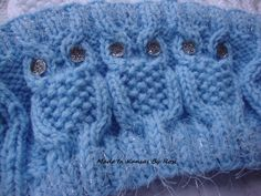 Icy Blue Owl Headband/Ear Warmer... from Made In Kansas By Rosi... on Facebook