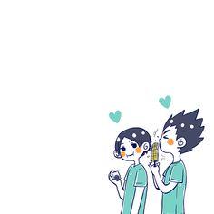 Haikyuu Funny, Haikyuu Fanart, Haikyuu Anime, Haruichi Furudate, Anime Crafts, Haikyuu Wallpaper, Haikyuu Characters, Kagehina, Cutest Thing Ever