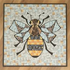 Paintings prints design and commissions by Sue Scott Manchester Art, Mosaic Pictures, Wood Mosaic, Geometry Art, Wood Burning, Mosaics, Painting Prints, Bees, Print Design