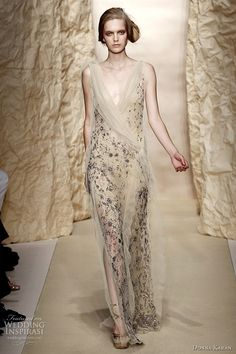 True, I don't attend black-tie affairs on a regular basis, but I need this gown and I would wear it each and every day. (Donna Karan spring 2011)
