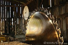 images of old sawmill buildings | An old small sawmill silently waits for its next feeding.