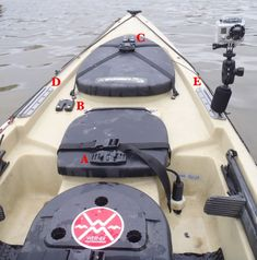 Angling Addict: Kayak Rigging for Photos and Video