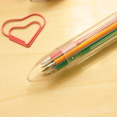 You can definitely say these muilti-colored pens are a #TBT to childhood!