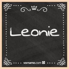 Was für eine schöne Bedeutung dieser Name hat. Finde heraus, wo der süße Mädchenname herkommt, lerne, was er bedeutet, wann sein Namenstag ist und vieles mehr. Alle Infos zum Namen Leonie auf Vorname.com entdecken!