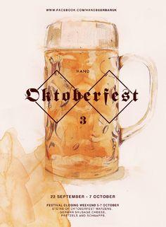 Oktoberfest Poster - James Boswell Illustration