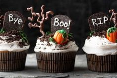 Fabulous halloween cupcakes decorations 1