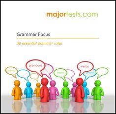 Download Grammer Focus: 50 essential grammar rules (Major Tests)  ✔ Download…