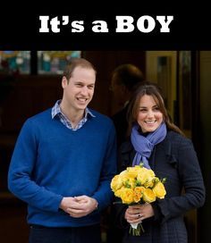 It's a BOY for William and Kate - Royal Baby - Duke & Duchess of Cambridge Pregnant Kate