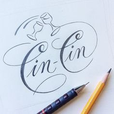 Lettering & Calligraphy Sketch Collection by Julia Zhdanova