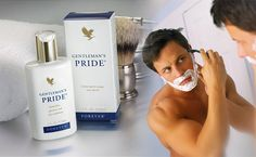 Pamper the man in your life with Gentleman's Pride! * Aftershave or anytime moisturizing lotion * Alcohol-free formula * Soothes and moisturizes with Aloe Vera mixed with special conditioners such as Rosemary and Chamomile * Unique, fresh fragrance * Forever Living's stabilized Aloe Vera gel, combined with a unique blend of lubricants and moisturizers, doubles as a silky, smooth skin conditioner. #aftershave #bbloggers #moisturiser #skinconditionerformen #beauty www.mairemtd.flp.com