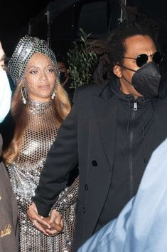 Queen Bee Beyonce, Beyonce And Jay, Long Sleeve Gown, Sheer Tights, Sequin Dress, Her Style, Headpiece, Veil, Corset