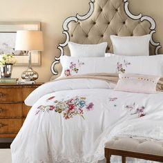Now available on our store: Oriental Embroide... Check it out here! http://jagmohansabharwal.myshopify.com/products/oriental-embroidery-white-luxury-bedding-set-king-queen-size-4pcs-egyptian-cotton-bed-sheet-set-duvet-cover?utm_campaign=social_autopilot&utm_source=pin&utm_medium=pin