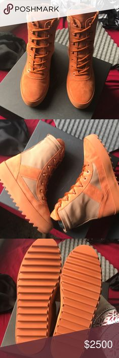 Yezzy season 3 size 39 Brand new with box NEVER worn yezzy Shoes Combat & Moto Boots